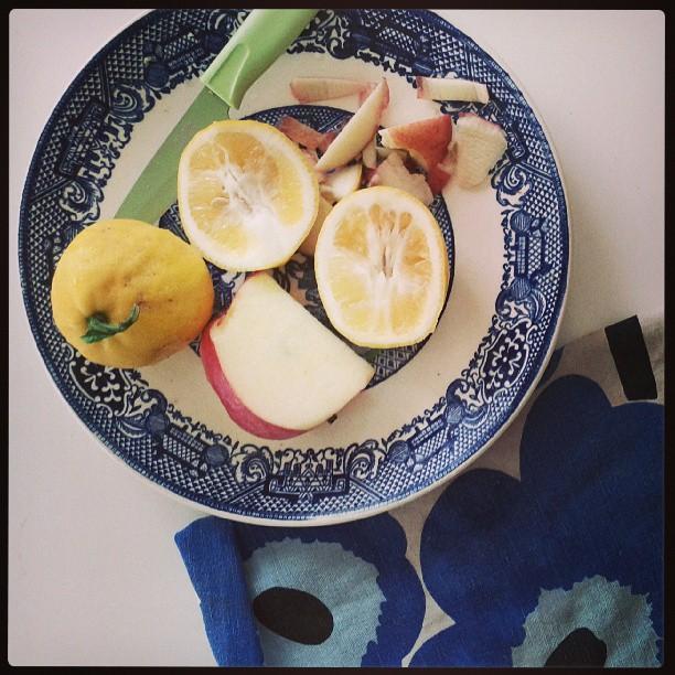 lemons + apples