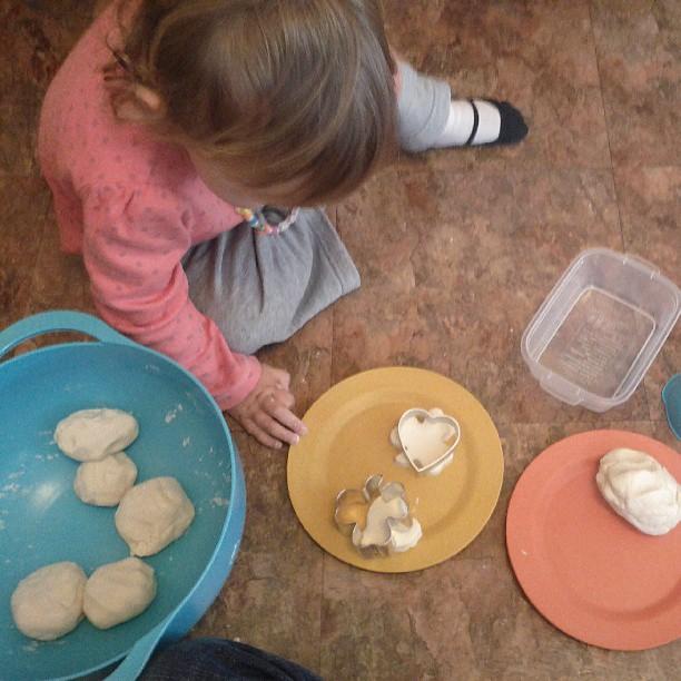 Dough and clover