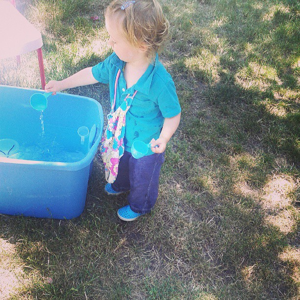 water play - Emma style