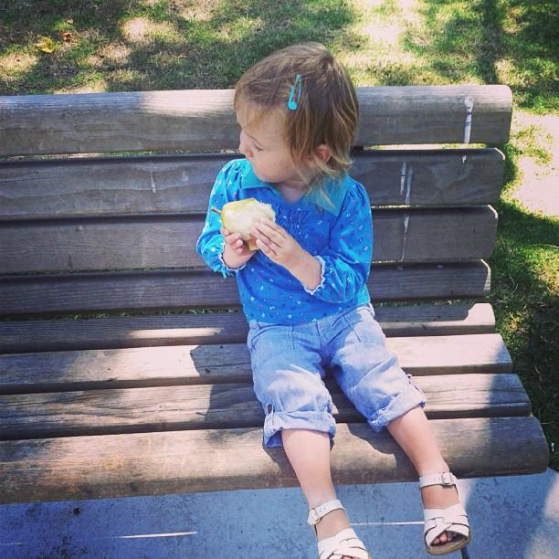 Pear break at park
