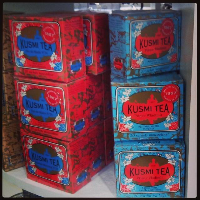 Picked up a tin of Prince Vladimir tea ;)