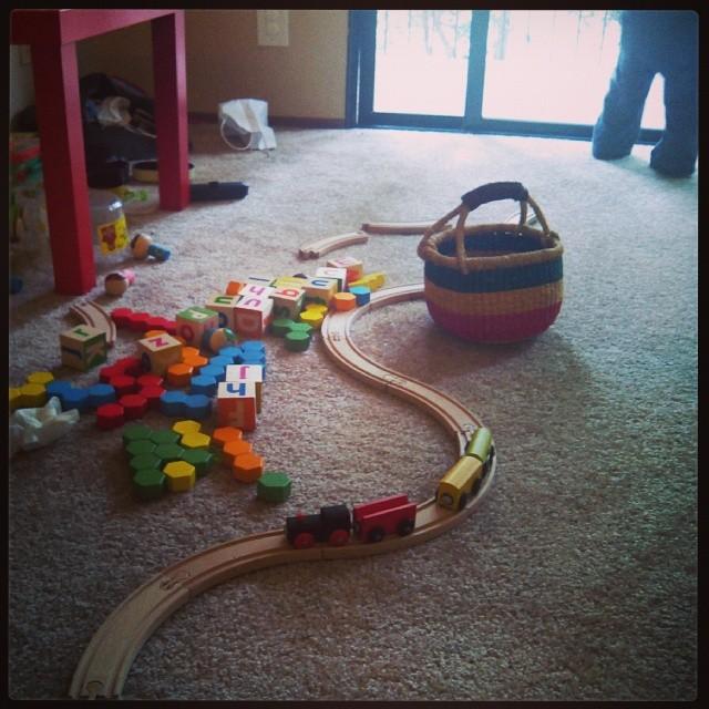 blocks & trains