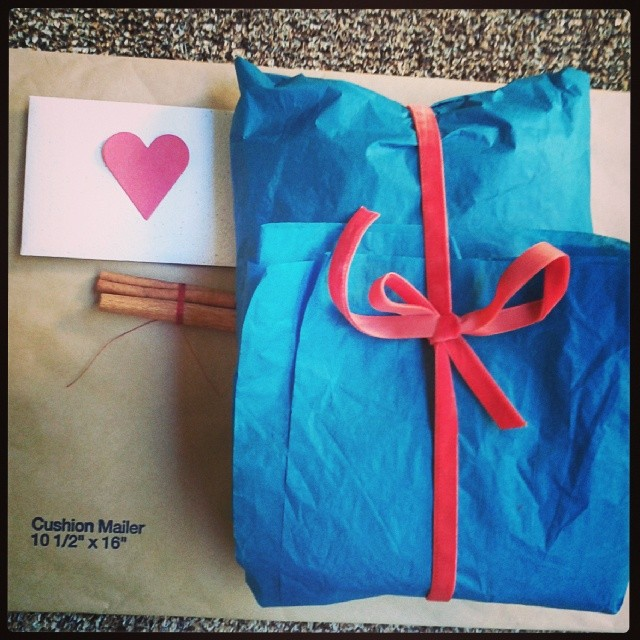 a present to send