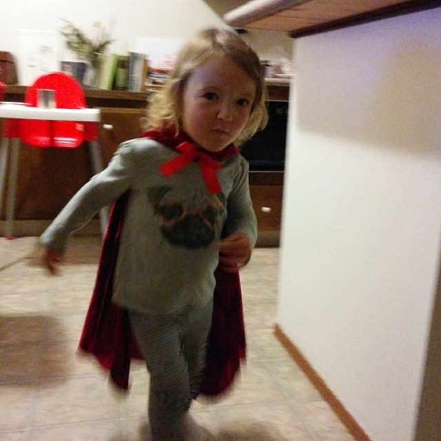 who is this caped super hero?