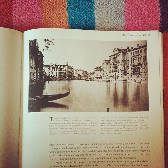 Library book of the day: Venice in Photographs
