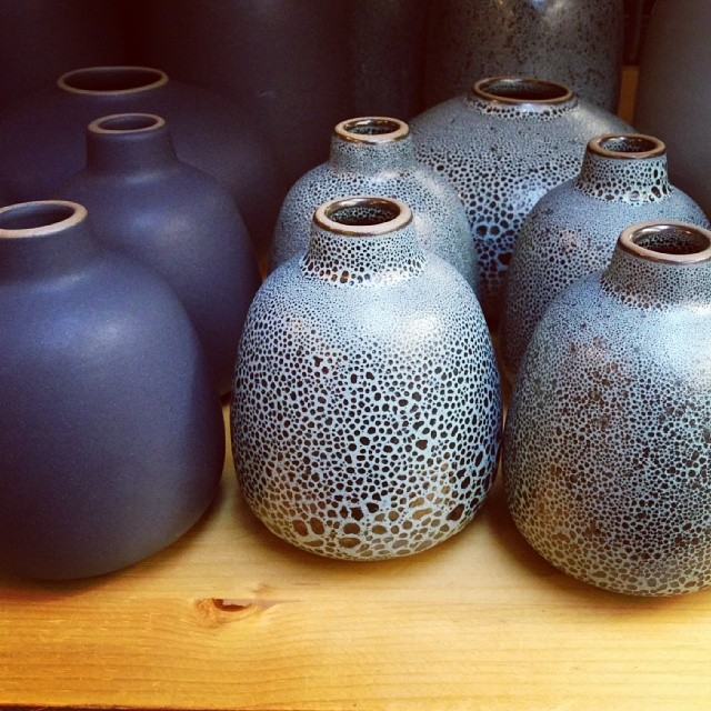 Speckled Heath vases