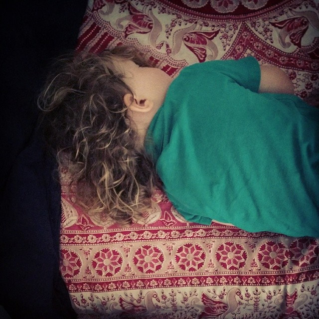 trying wake her