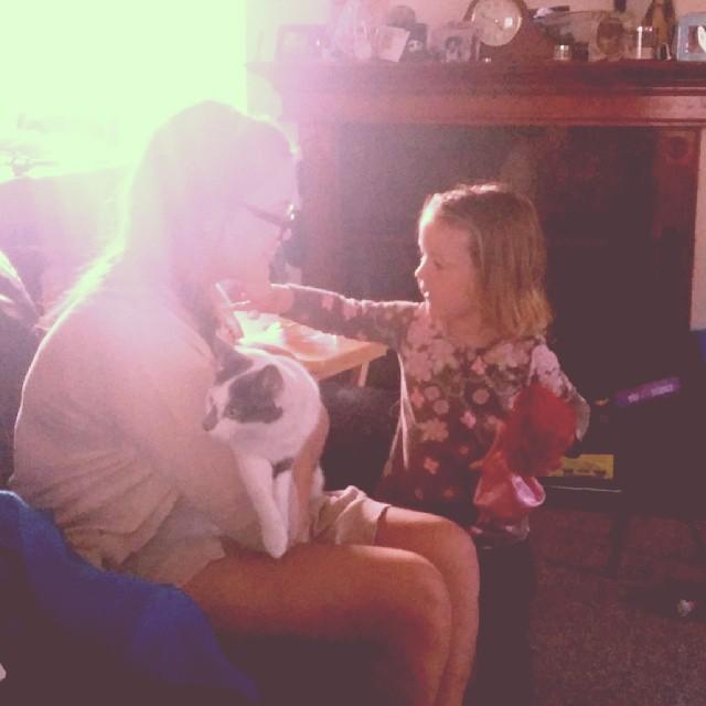 Emma, kitty and @meowliison