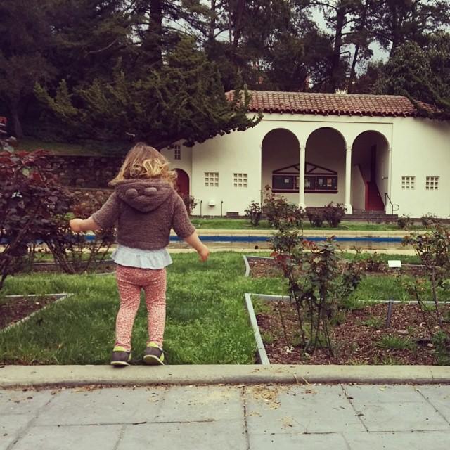 Emma at Oakland Rose Garden