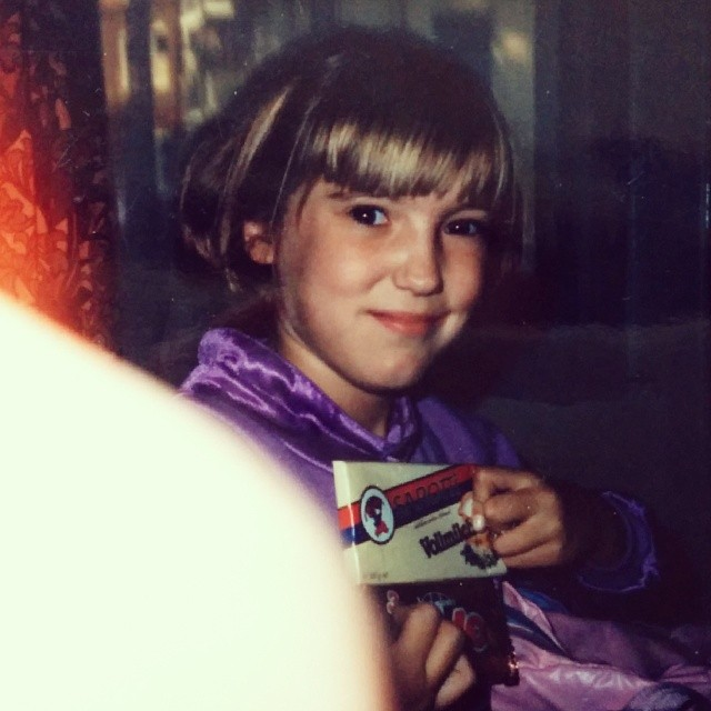 when I fell in love with really good chocolate