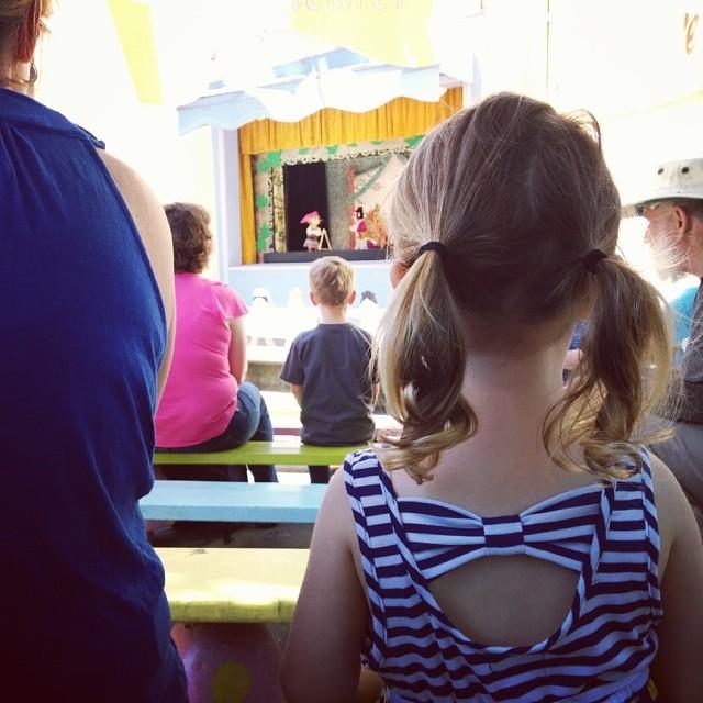 puppet show at #fairyland