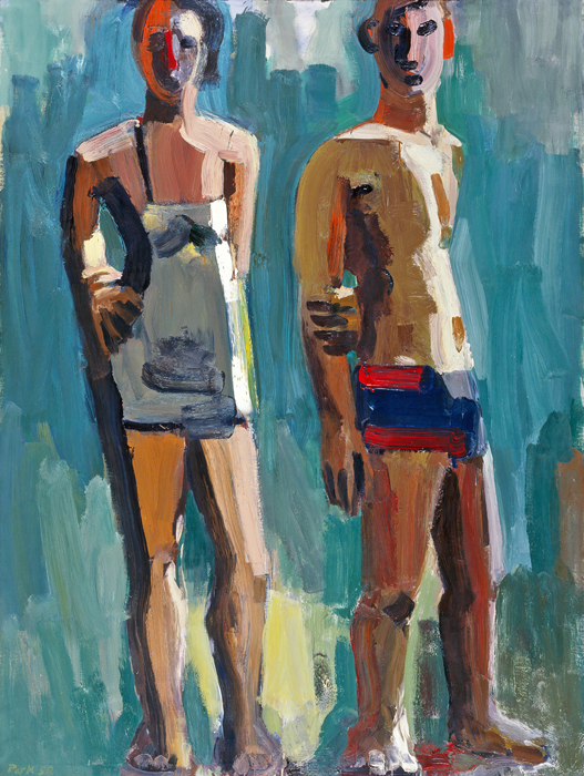 David park -swimmers