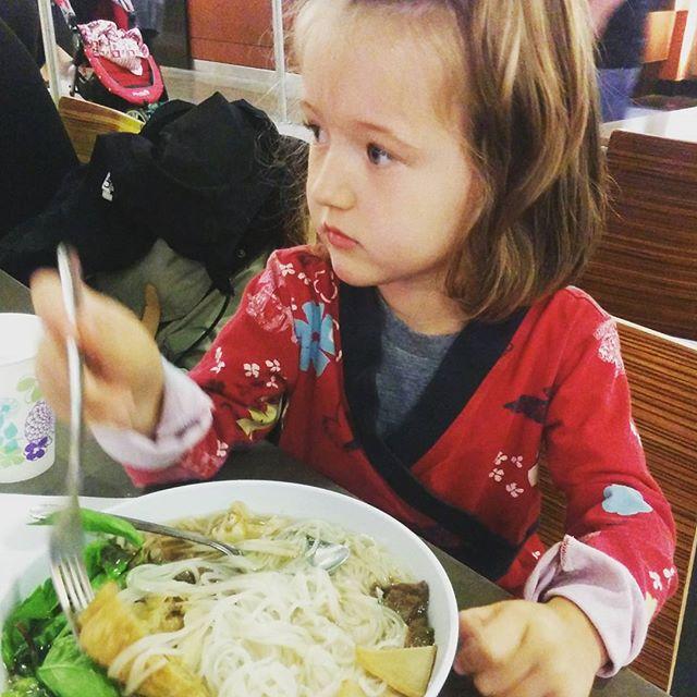 Vegan pho noodle soup!