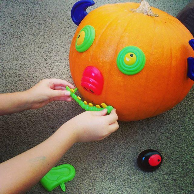 Mr Pumpkin head