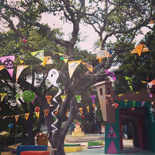 Party time at the Jack O'Lantern Jamboree at Fairyland