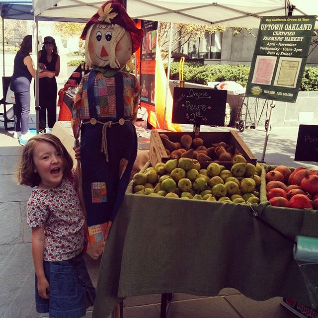 autumn at the uptown farmer's market