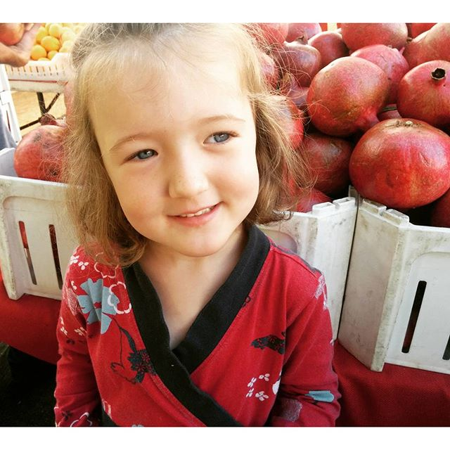 her favorite is pomegranate, mine is persimmon