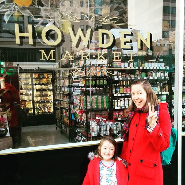 Excited to shop at the Howden Market when it opens.