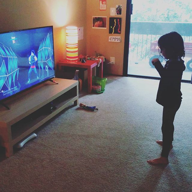 Christmas came early. maiki & clover love their new Wii!