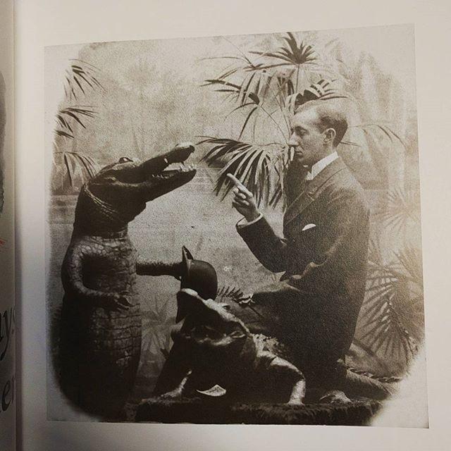 vintage book: Alligators Always Dress For Dinner