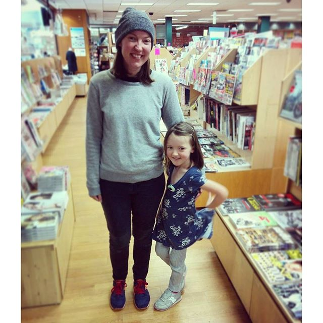 just to show how tall my four-year-old is now!