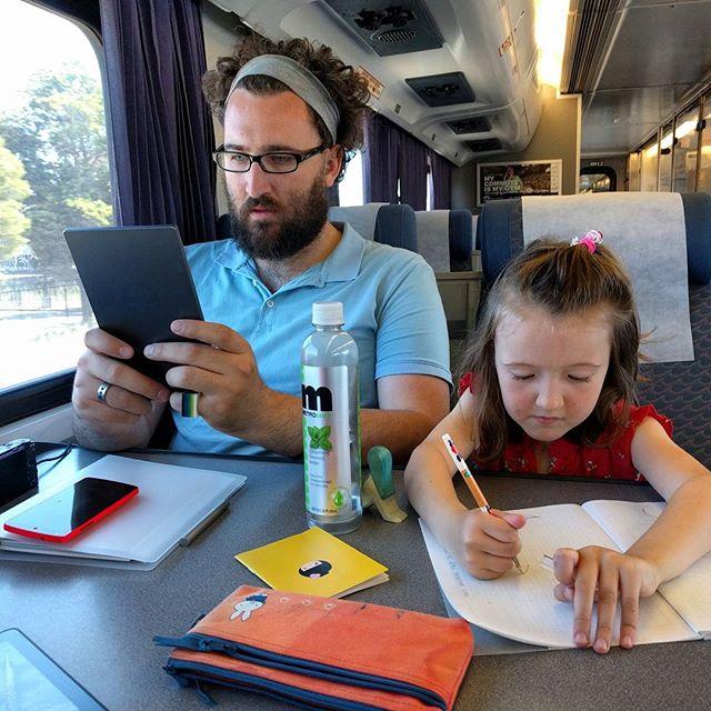Amtrak to Diridon Station, San Jose: Clover's first train trip