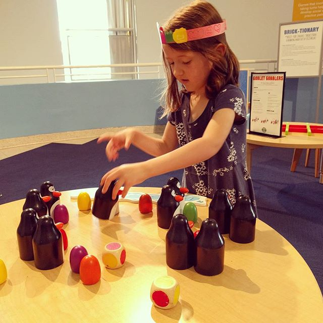 Playing at the Children's Creativity Museum