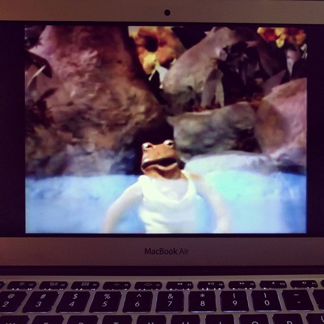 Happiness is when you find you favorite story in Claymation on the youtubes! Frog & Toad, 1985.