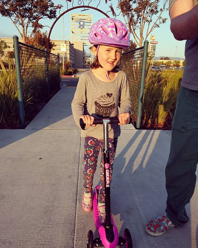 all of her scooter dreams have come true