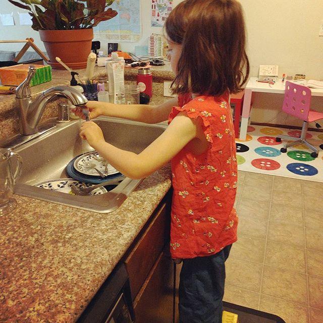 my little dishwasher