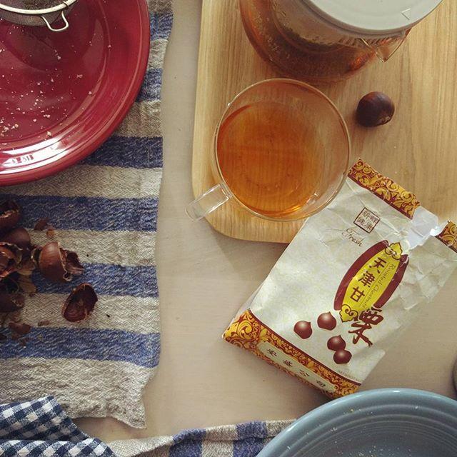 roasted chestnuts & tea