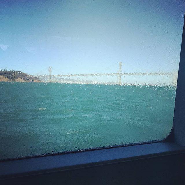wet ferry window