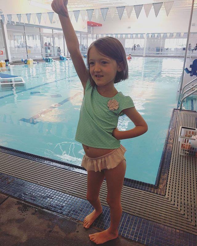 Back at swim class