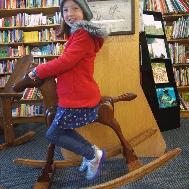 Visiting Bookshop Santa Cruz for storytime this morning.
